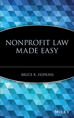 Nonprofit Law Made Easy (Mc Bruce R)