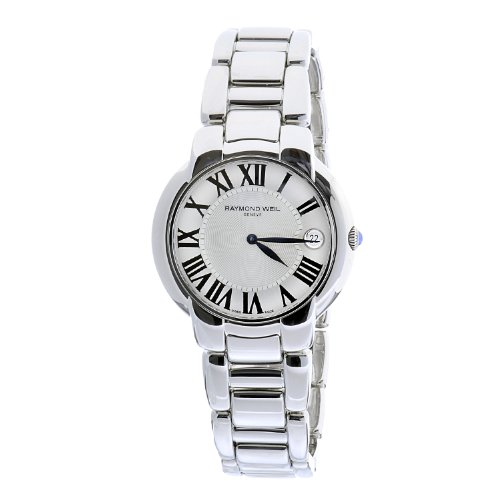 Amazon.com  Raymond Weil Women s 5235-St-00659 Jasmine Stainless Steel  Bracelet Silver Dial Date Watch  Raymond Weil  Watches 23834c02e2