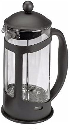 Diseño con texto en 8 botella con boquilla y tapa negro - cafetera de cristal desatascador para filtros de café: Amazon.es: Hogar