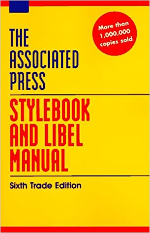 Associated press stylebook and libel manual sixth trade edition associated press stylebook and libel manual sixth trade edition the associated press 9780201407174 amazon books fandeluxe Choice Image