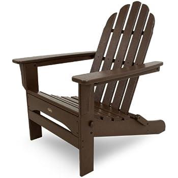 Amazon Com Strathwood Adirondack Chair With Cupholder