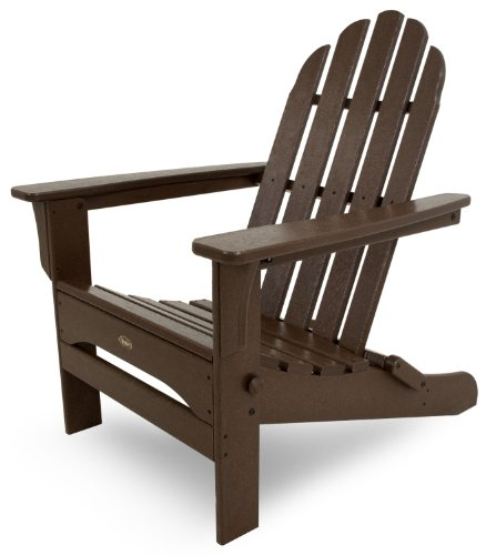 Trex Outdoor Furniture Cape Cod Folding Adirondack Chair, Vintage Lantern ()