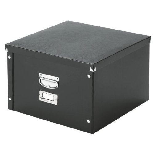 Large Black Storage Box - 6