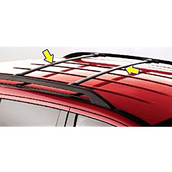 Oem Factory Stock 2013 13 Ford Escape Black Roof Cross Bars Luggage Rack Kit