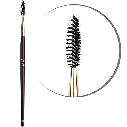 Cepillo Para Pestañas Maquillaje Profesional – Cepillo B10 Vegano De Fibras Sintéticas Para Cejas y Pestañas