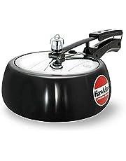 Hawkins CB35 New Contura Hard Anodized Cooker 3.5l, Contura Black