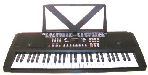Huntington KB54 54-Key Portable Electronic Keyboard Black
