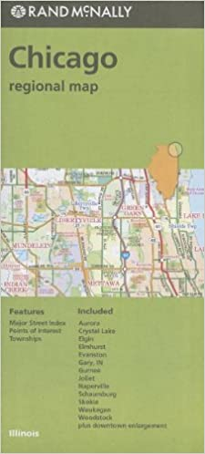 Rand McNally Folded Map: Chicago Regional Map: Rand McNally ... on illinois county map, illinois dot construction map, illinois interstate highway map, illinois airports map, illinois tollway map 294, illinois tolls rates map, illinois road atlas, illinois us 66 maps,