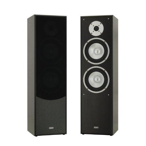 1 Paar Standlautsprecher Mohr SL10 schwarz, Lautsprecherboxen, HiFi Klang zum günstigen Preis