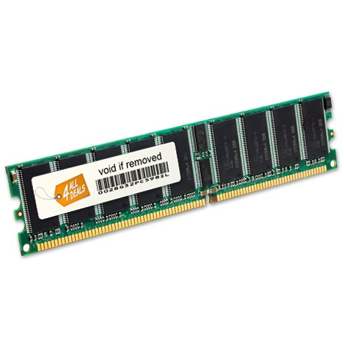2gb Ddr Ecc Registered (4GB Kit [2x2GB] DDR-400 PC3200 ECC Registered 184 Pin 2.5V CL=3 Memory 128X4 SERVER MEMORY)