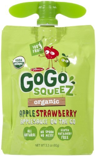 Materne GoGo Squeez Organic Applesauce, Variety Pack, 3.2 oz, 20 ct by Materne (Image #5)