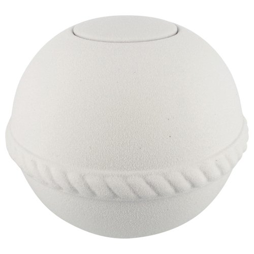 Silverlight Urns Quartz Globe Biodegradable Urn by Passages International, Eco Urn for Ashes, Sea or Earth Burial Urn