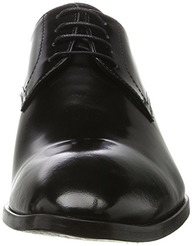 Karl Lagerfeld Herren Shoe Derbys Schwarz (Schwarz)