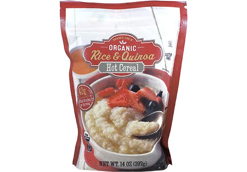 Trader Joe's Organic Rice & Quinoa Hot Cereal 14 Ounces
