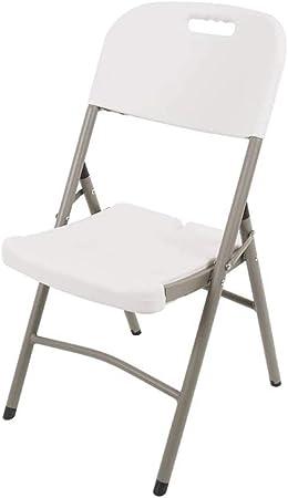 ZZW Moda sedie Pieghevoli, Casual Soggiorno Camera da Letto