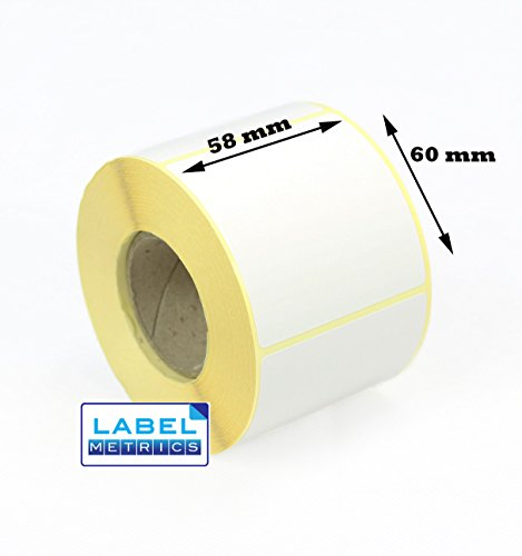 30mm x 15mm WHITE Direct Thermal Labels for Zebra Citizen Toshiba etc