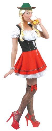 Beer Garden Babe Adult Costume (Adult Gretel Costume)