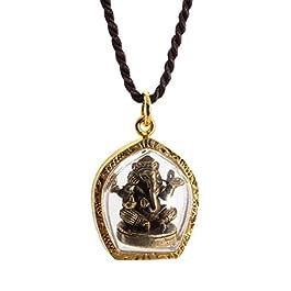 Lord Ganesh Ganapati Vinayaka Dakshinabhimukhi Murti Amulet Pendant