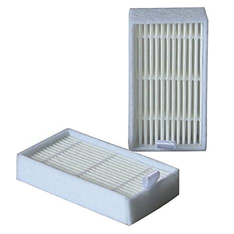 10pcs Recambios Filtros Aspiradora HEPA Filtro Para Chuwi iLife V3 V3s X5 V5 V5s Pro Ecovacs CR130 CR120 CEN540 CEN250 Limpiador Partes: Amazon.es: Hogar
