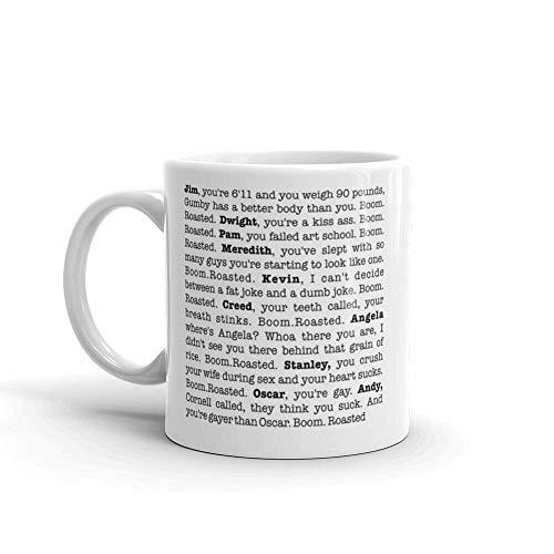 The Office Boom Roasted 11 oz. Mug (Best Office Coffee Mug)
