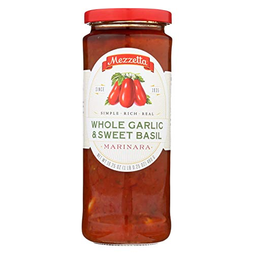 - Mezzetta Marinara Whole Garlic and Sweet Basil - Case of 6 - 16.25 oz.