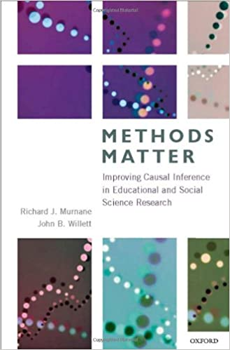 Methods matter improving causal inference in educational and social methods matter improving causal inference in educational and social science research 1st edition publicscrutiny Gallery