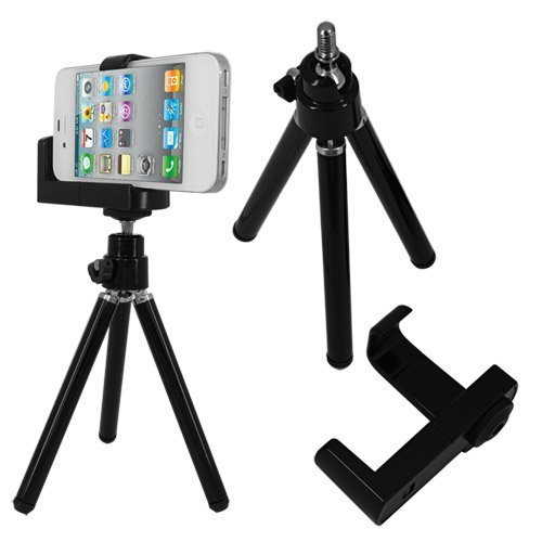 Universal Mini Tripod Stand Camera Video Holder for Apple iPod Touch -