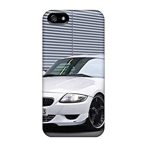 High Grade GAwilliam Flexible Tpu Case For Iphone 5/5s - White Ac Schnitzer Bmw M Coupe Front Angle