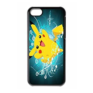 James-Bagg Phone case Cute Pikachu Protective Case For Iphone 5c Style-9