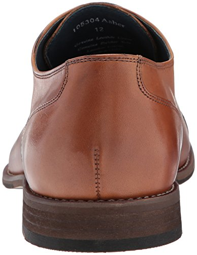 Rush By Gordon Rush Mens Asher Cap Toe Oxford Cognac