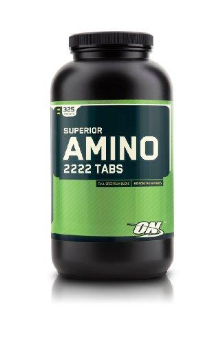 Optimum Nutrition Superior Amino 2222, 320 comprimés de comptage