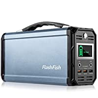 300W Portable Generator, FlashFish 60000...