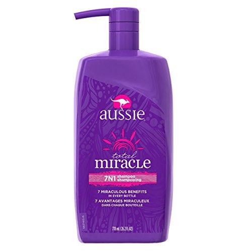Aussie Total Miracle 7N1 Shampoo with Pump, 26.2 oz