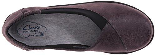 Clarks Purple de Jetay Synthetic Sillian soporte mujer Nubuck Grey cloudsteppers 6wqaRr6Y