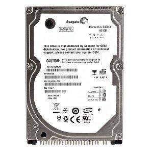 Drive Hard 5400rpm Internal 80gb - Seagate Momentus 5400.3 80GB UDMA/100 5400RPM 8MB 2.5