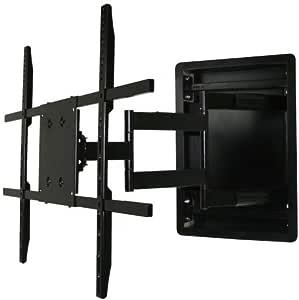 En pared de montaje de la televisión, empotrable en pared articulado de montaje de la televisión para 42 A 177,8 cm televisores LCD, LED, o Plasma de: Amazon.es: Electrónica