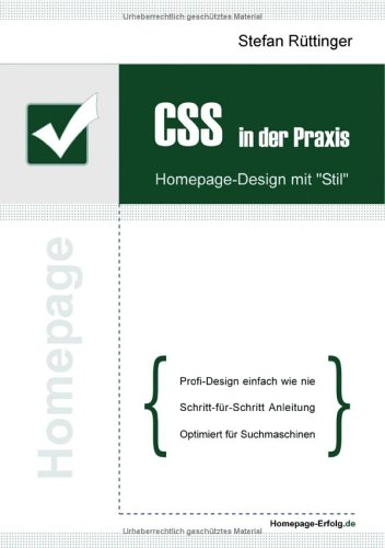 CSS in der Praxis: Homepage-Design mit Stil