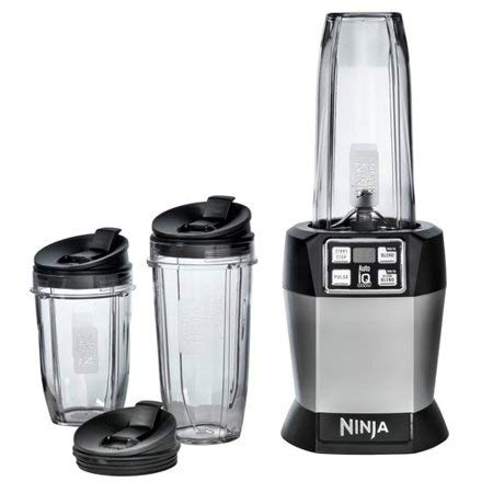 Nutri Ninja Auto-iQ Blender BL482 (Renewed)