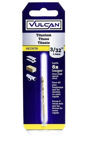 VULCAN 218301OR Bit Drill Titanium