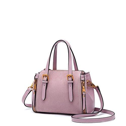 Bolso de hombro femenino Bolso de bolso elegante creativo Messenger Rosa