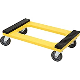 Plastic Dolly With Rubber Padded Deck, 5\