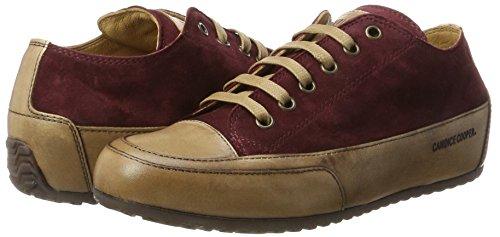 burgund Sneaker Candice Donna Cooper Rot Camoscio Basse ZqROq