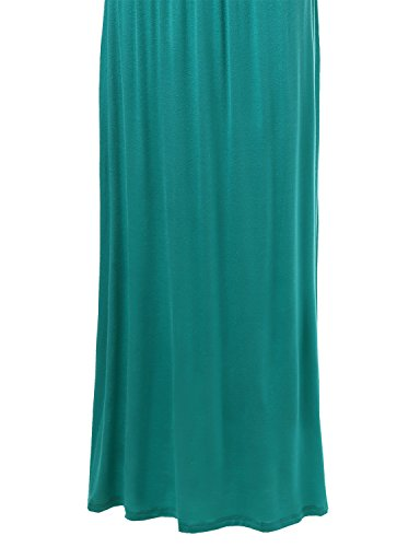Awesome21 Emerald Awdmd062 Women's Dresses Maxi Cami Solid Strap Adjustable PgPwxqR8r