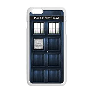 GKCB Doctor Who blue police box Cell Phone Case for Iphone 6 Plus
