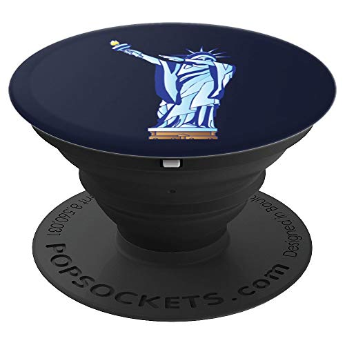 Dabbing Statue Of Liberty Art | New York Lovers Cool Gift - PopSockets Grip and Stand for Phones and Tablets