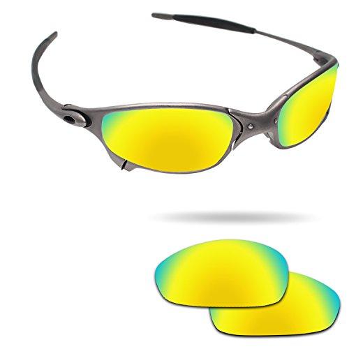 Juliet Replacement Lenses (Fiskr Anti-saltwater Polarized Replacement Lenses for Oakley Juliet Sunglasses - Various Colors)