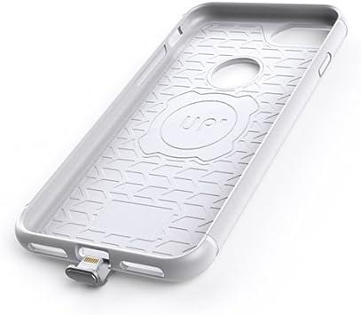 Exelium EX-UPMAI7W Coque réceptrice magnétique Induction Qi pour iPhone 6/6S/7 Plus