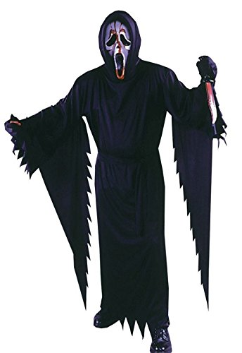 Fun World Licensed Bleeding Scream Costume, Large 12 - 14, -
