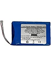 3.7V/1200mAh Replace GPS Navigator Battery for Garmin Nuvi 2660LMT, Nuvi 2669LMT,Nuvi 3700, Nuvi 3760, Nuvi 3760T, Nuvi 3790, Nuvi 3790T,Nuvi 2575R, Nuvi 2595LMT, Dezl 560LMT, Dezl 560LT, Dezl 560LM