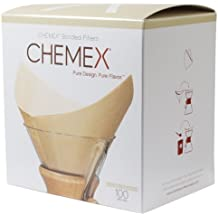 Chemex Natural Coffee Filters, Square, 200ct